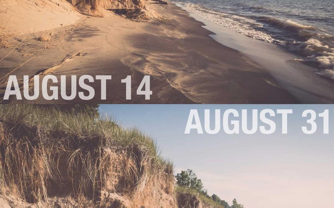 SEAWALLS: 8.31.2014 COMPARISON 2